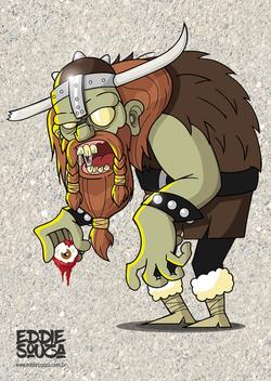 O Viking Zumbi