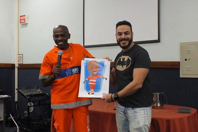 Sorria Sempre, Caricatura Renato Sorriso
