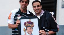 Caricatura Juninho e Felipe | VascoTV