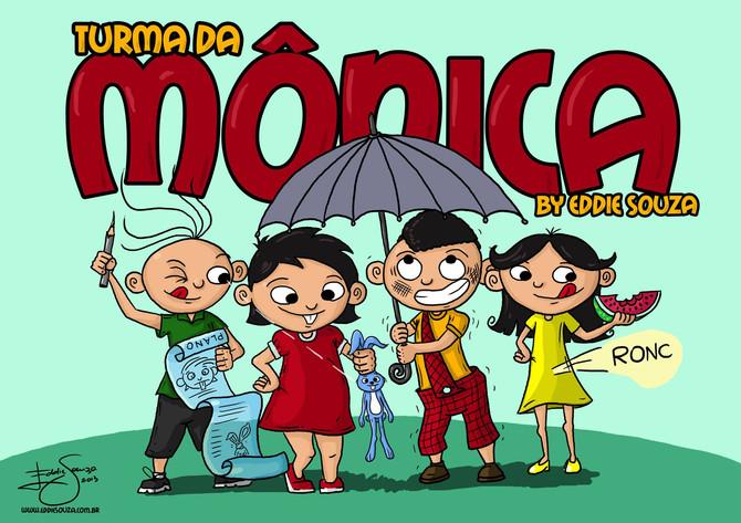 Turma da Mônica by Eddie Souza