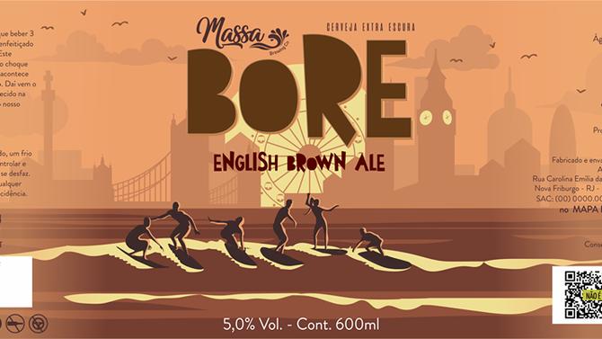 Rótulo de Cerveja - Bore