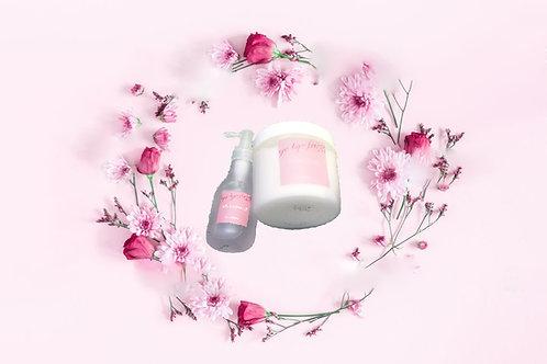 ShineMoist拜拜毛躁系列皇牌 🌹玫瑰油髮芯修復焗油+護髮油組合