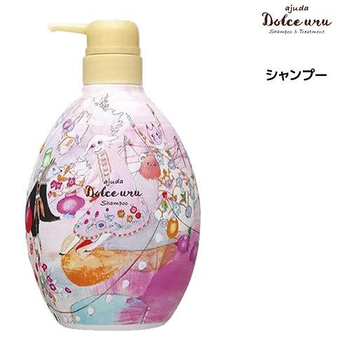 日本 Ajuda Dolce Uru 花香無矽氨基酸洗髮水 300ml/ 700ml
