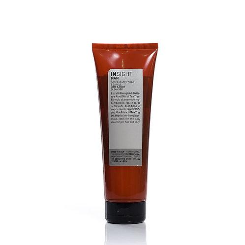 意大利Insight Man男士專用2合1洗髮水沐浴露250ml