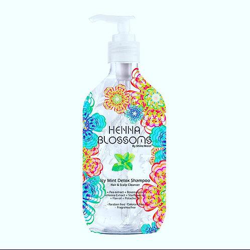 Henna Blossoms 超冰涼洗髮水 Icy Mint Detox Shampoo 500mL