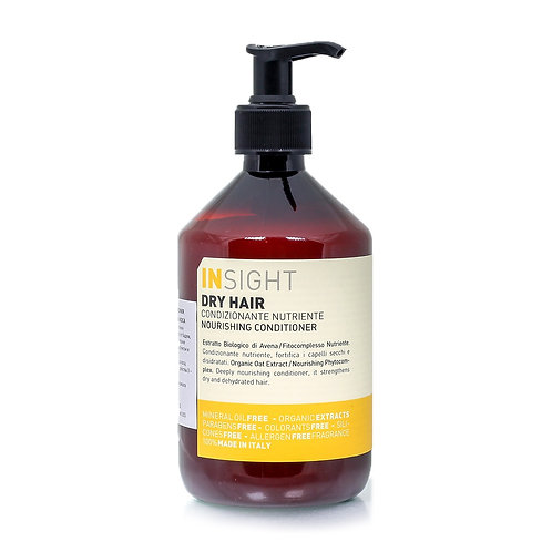 意大利INSIGHT Dry Hair 有機修護滋潤護髮素 400ml/900ml