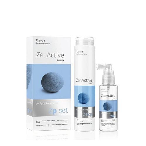 Erayba Professional Line Zen ActiveZp set purifying treatment頭皮屑淨化養髮