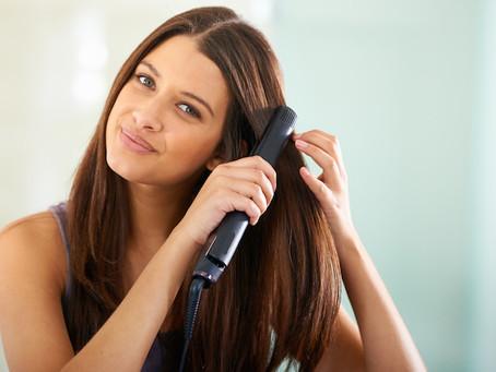 平時拉直頭髮需要注意的8件事!