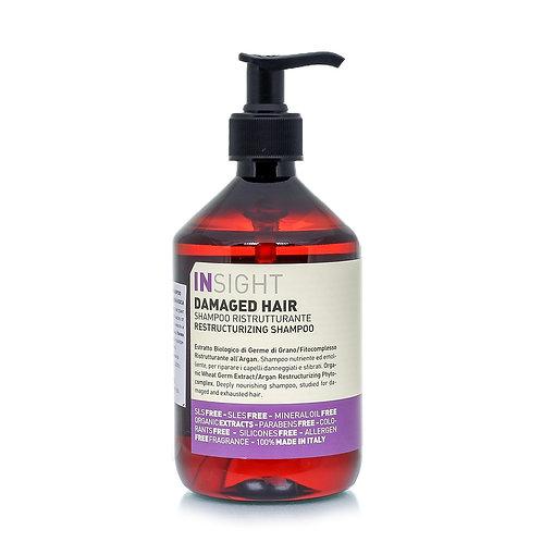 意大利Insight Damaged Hair Restructuring Shampoo 有機受損髮質洗頭水 400ml/900ml