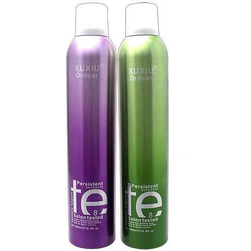 TE 特強造型噴髮膠 (紫色清香/綠色淡香) 450mL