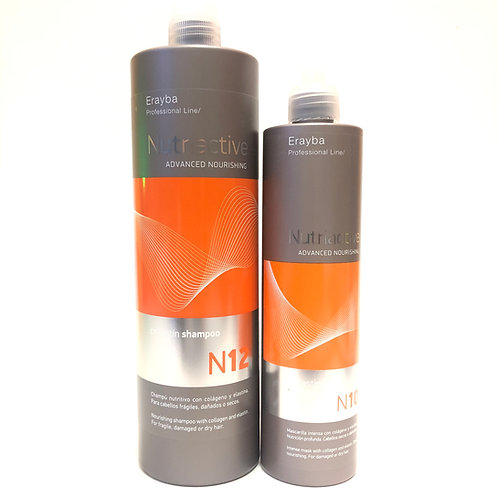 Erayba -  NutriActive N12  膠原蛋白彈力洗淨修護組合