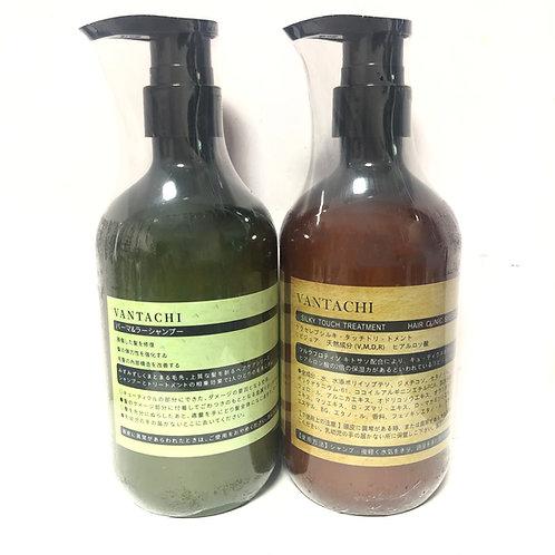 日本🇯🇵Vantachi 清涼潤膚茶樹植物鎖色洗護組合