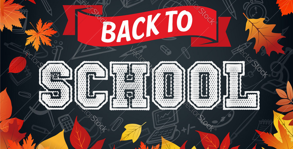 back-to-school-poster-of-leaf-fall-vecto