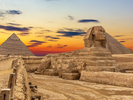 What do you see in Egypt & Let's Mummify a Pharaoh!