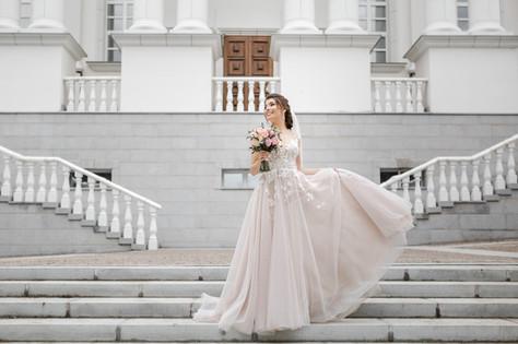 Нежная красивая невеста