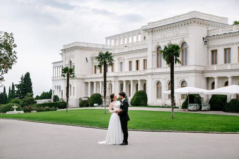 Свадьба в Ливадийском дворце
