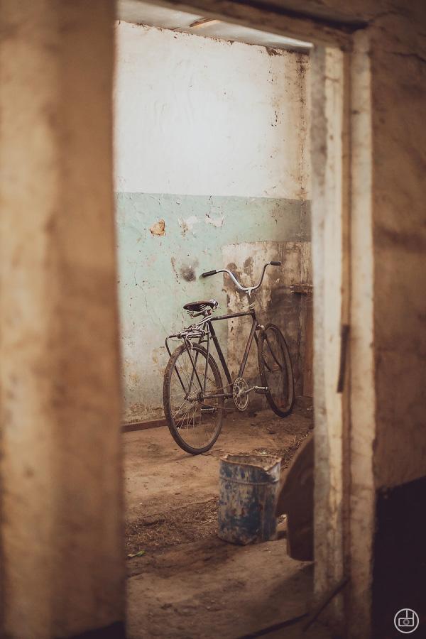 Разруха, велосипед