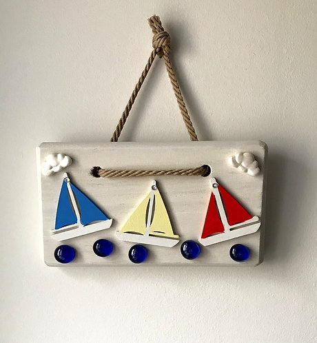Sailing Boat Wall Hanging -Primary