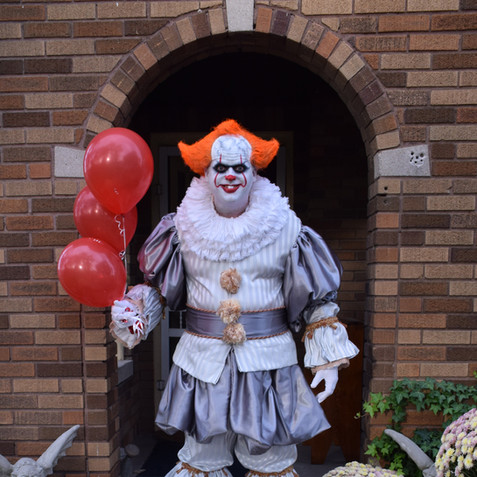 Me as Pennywise
