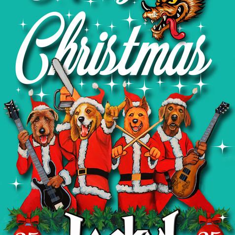 25th Anniversary Christmas Card