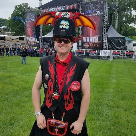 Heading to see Rob Zombie at Rockfest