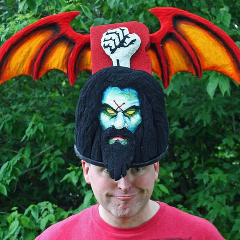 The Rob Zombie hat
