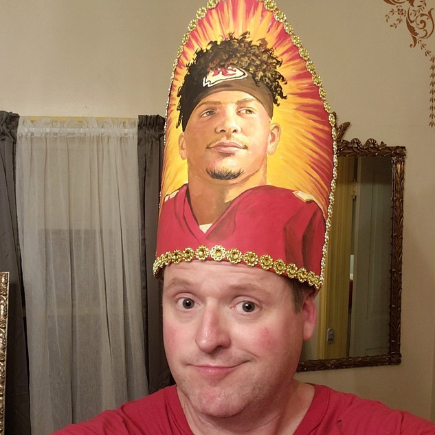 Made a pope hat