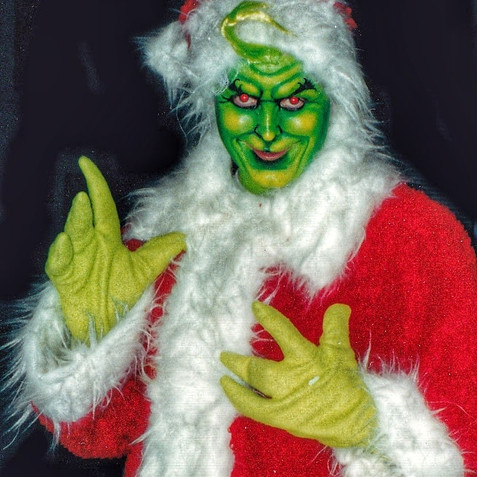 Me as The Grinch