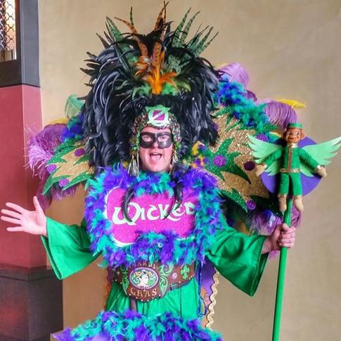 Oz themed Mardi Gras costume