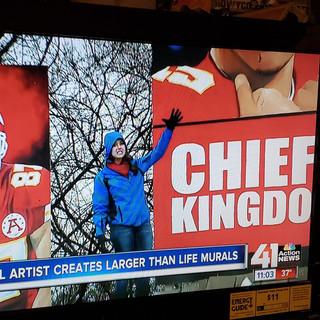 More media coverage
