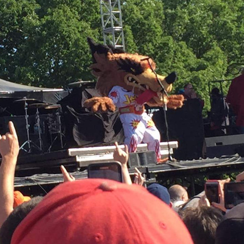 Me in the Jackyl costume at Rockfest