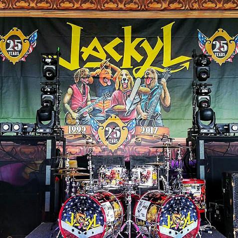 25th Anniversary Backdrop