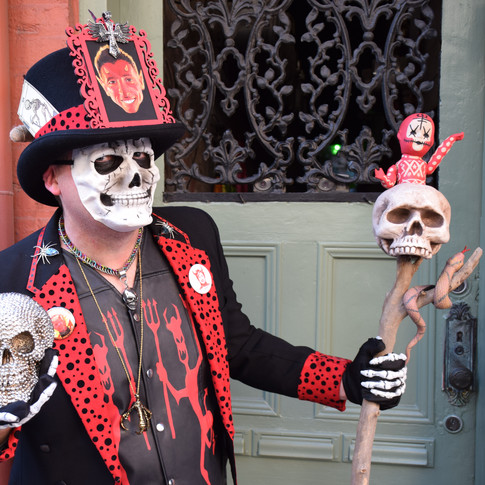 Pappa Diablo in the French Quarter