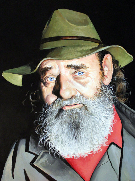 """Trapper from the show """"Mountain Monsters"""""""