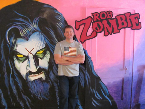Rob Zombie Mural