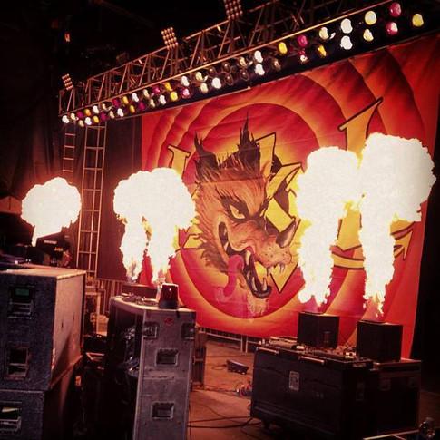 Rock n Roll Flames