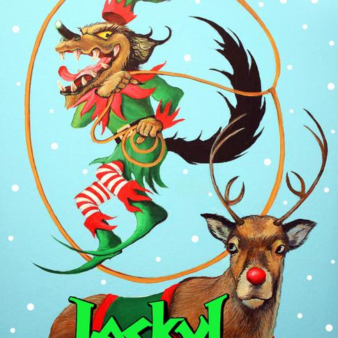 Jackyl Christmas card