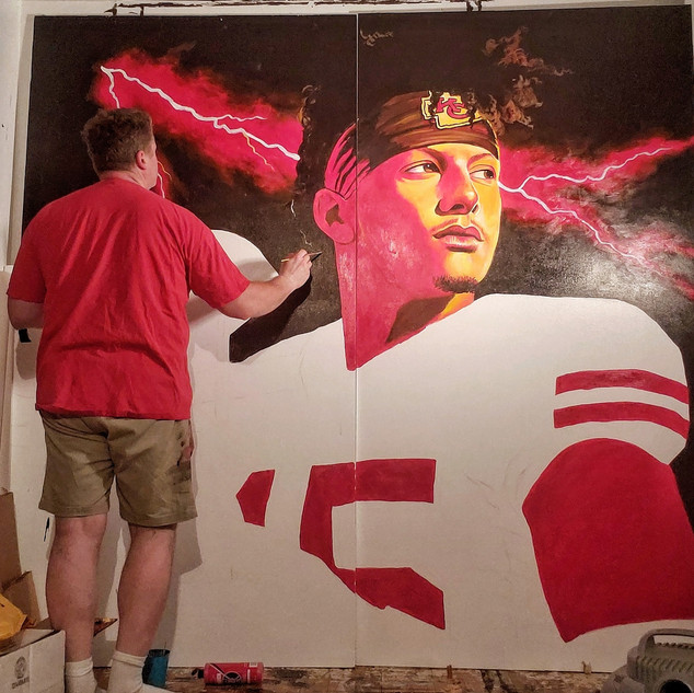 Halfway done with Mahomes