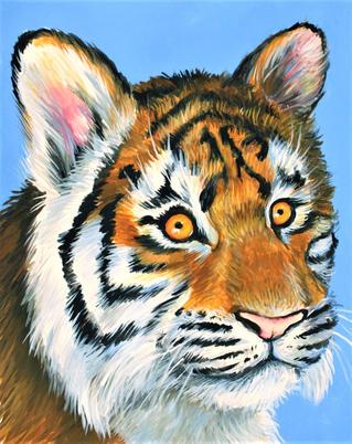 8x10 Tiger