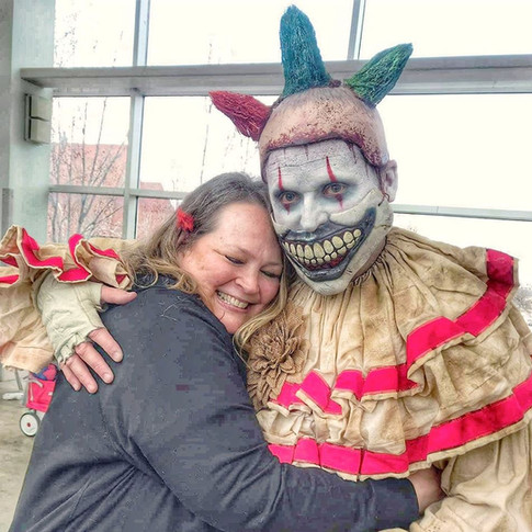 Me as Twisty at Comic-Con