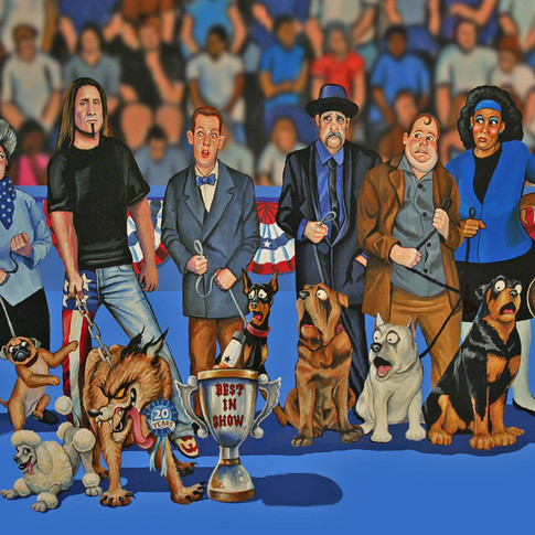 Jackyl Best in Show Dog Show Insert Poster