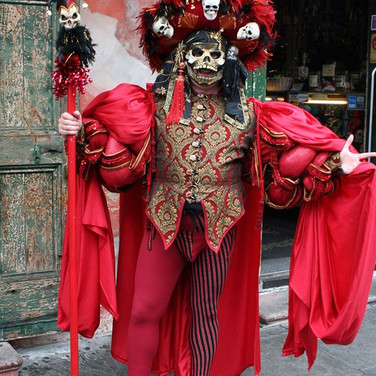 Red Death at Mardi Gras