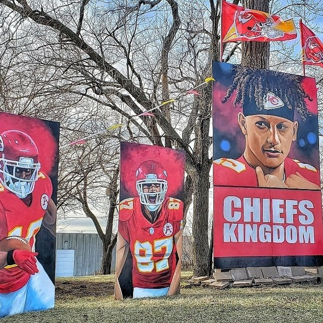 Hill, Kelce, and Mahomes