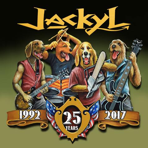 Jackyl 25th Anniversary Album Cover