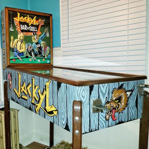 Jackyl pinball machine