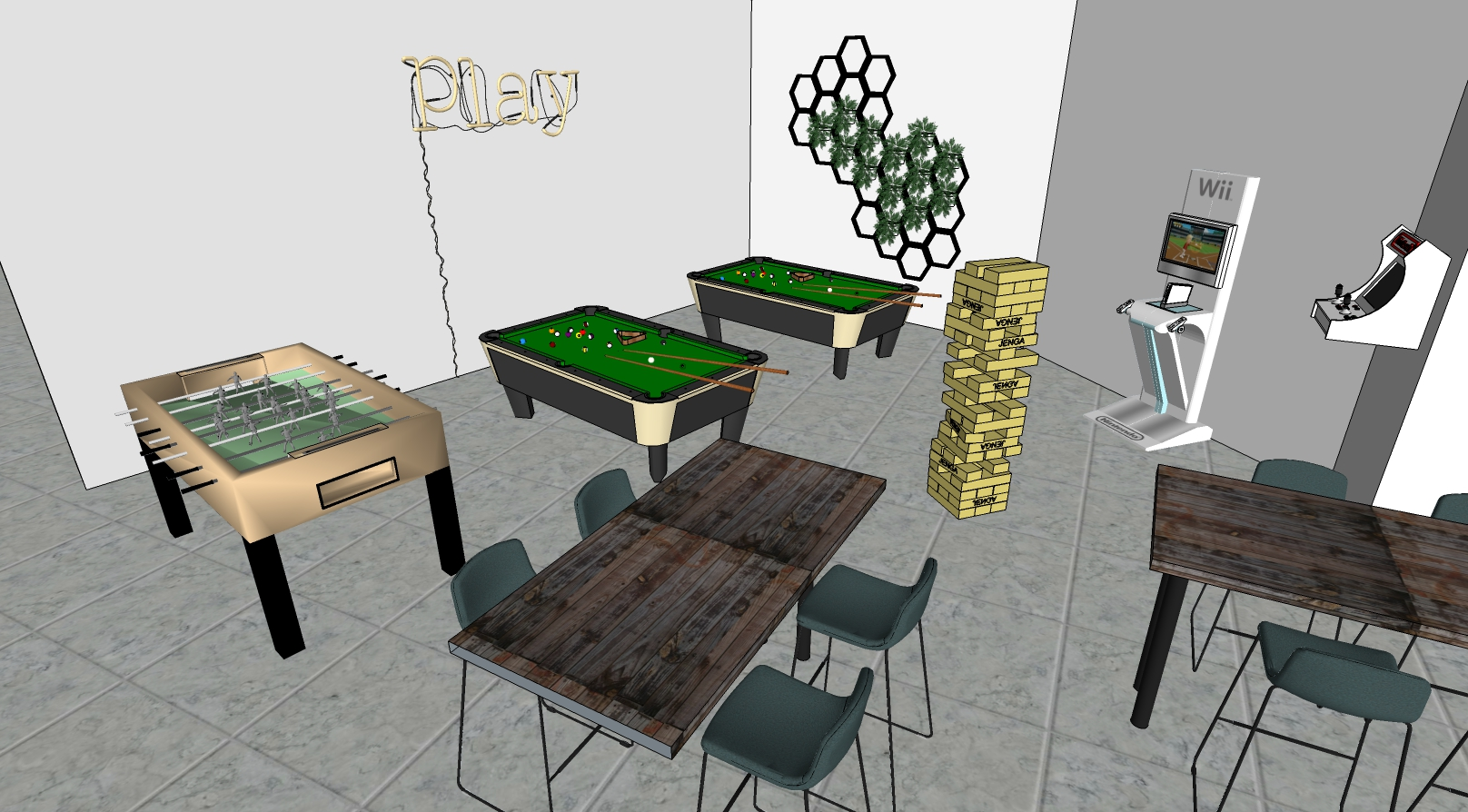 Recreational Game Room