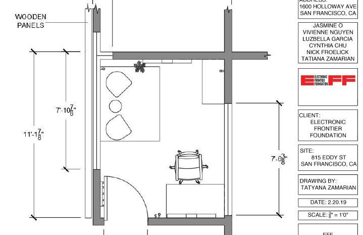 Updated floorplan with refurbished pieces.