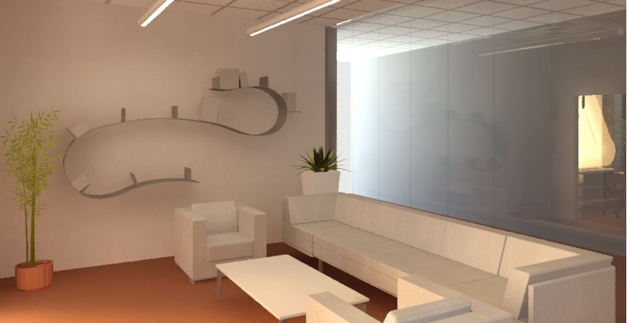 Extended lounge area.