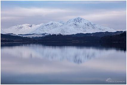 Loch Garry, Invergarry, Scotland.