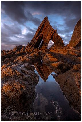 Black Church Rock, North Devon.